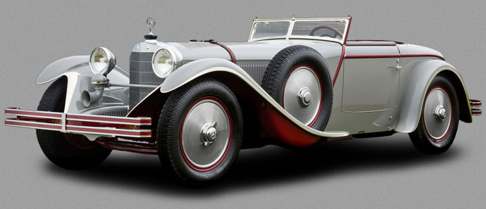 Mercedes-Benz 680S Torpedo Roadster by J. Saoutchik